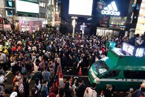 ハロウィン渋谷