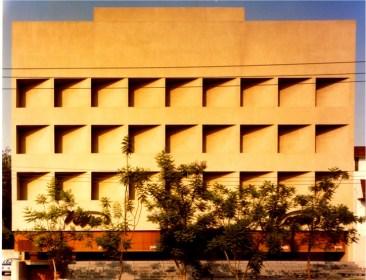 Edificio de las Américas, ubicado en Av. Américas y Av. Providencia. 1976