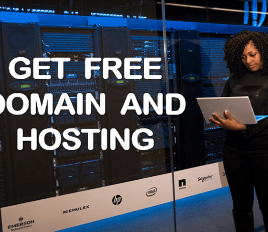 Get free domain name and web hosting