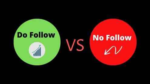 Do Follow Backlinks List Do follow VS No Follow backlinks