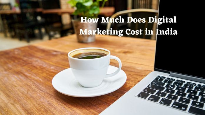 How much does digital marketing cost in India