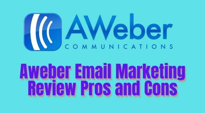 Aweber Email Marketing Review Pros and Cons