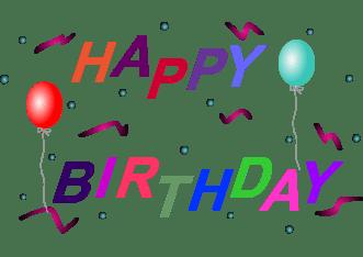 happy birthday clip art indian