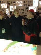 inaugurazione padiglione santa sede 5 Fassino Ravasi