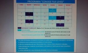 Conoce tus leyes Madrid Chamartín Marzo 2015