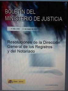 resoluciones DGRN Septiembre 2014