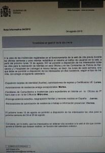 Novedades en gestión cita previa Barcelona