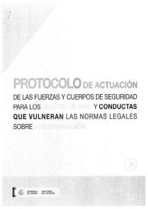 Foto portada protocolo actuación FCS para los delitos de odio y discriminación