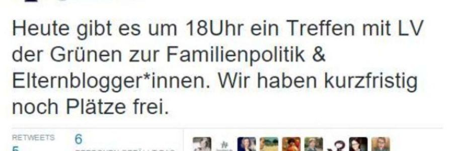 Blogfamilia trifft die Berliner Grünen – Diskussion zu Elternthemen