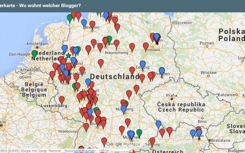 Elternbloggerkarte von familiert.de