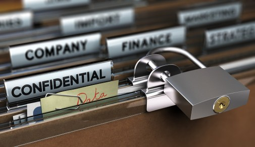 secure company data