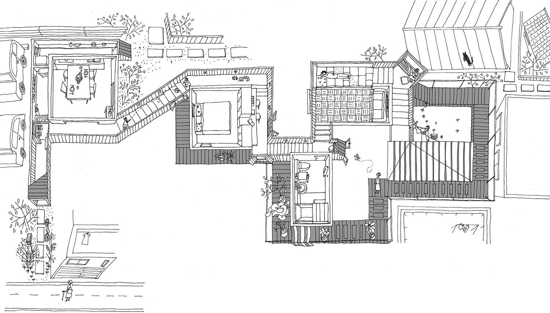 Double Helix House