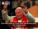 Juan Pablo II pide un «nuevo orden internacional moral»  para asegurar la paz