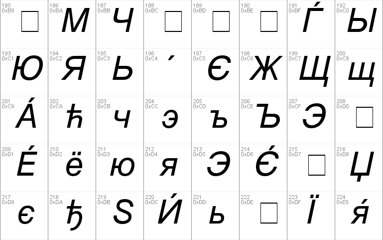 Download MAC C Swiss Windows font - free for Personal