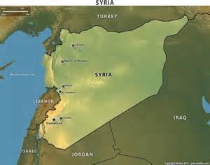 Syria map 514