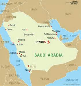 Saudi Map