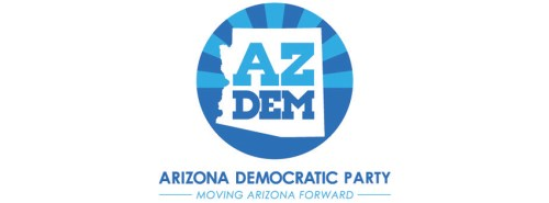 AZ dem party logo