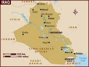 Iraq Map 1