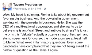 Tucson Progressive on Facebook
