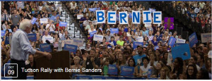 Bernie in Tucson
