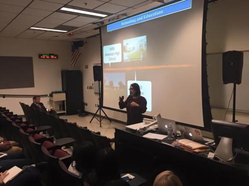 SFS University Professor Dr. Allyson Tintianhco-Cubales