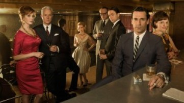 the primary characters of Mad Men.