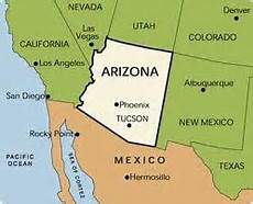 Map Of Arizona Border.Trends Influencing Arizona S Border Region Blog For Arizona