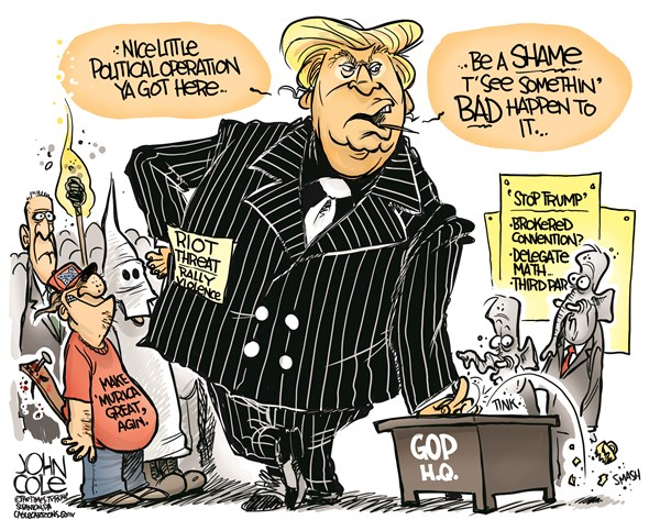 Image result for trump as tony soprano cartoons