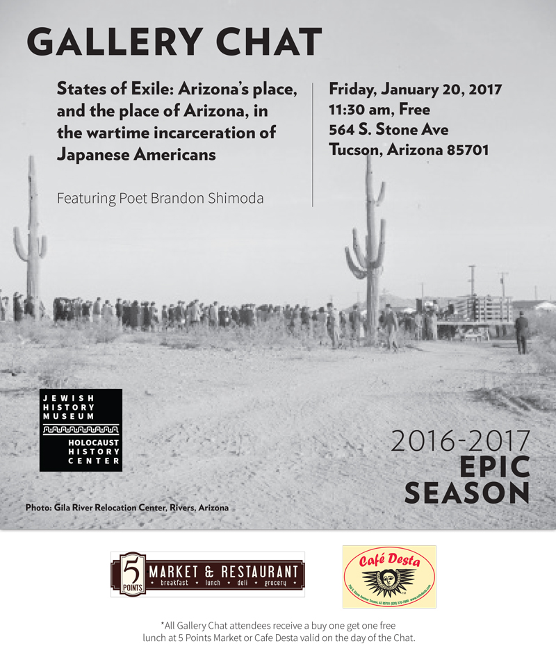 Upcoming events regarding WWII Internment of Japanese Americans ...