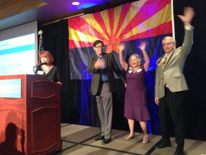 Steve Farley, Pamela Powers Hannley and Randy Friese