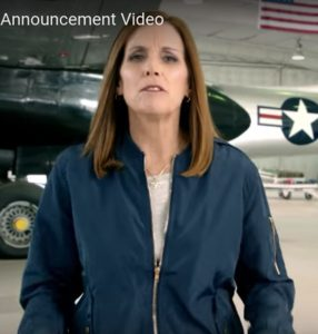 Martha McSally announcement