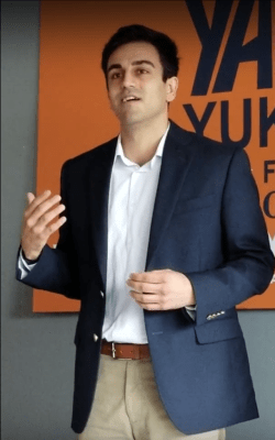 Disgraced candidate Yahya Yuksel refused to quit the CD2 race for Congress, ignoring an angry crowd of rape victims and other women.