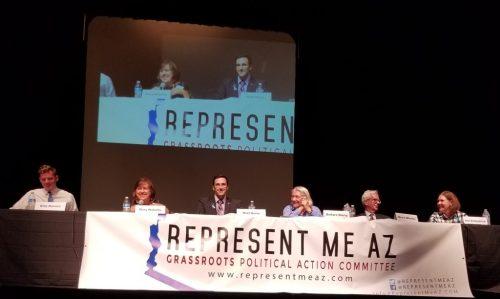 Candidates Billy Kovacs, Mary Matiella, Matt Heinz, Barbara Sherry, Bruce Wheeler, and Ann Kirkpatrick.