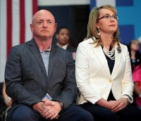 Mark Kelly and Gabby Giffords