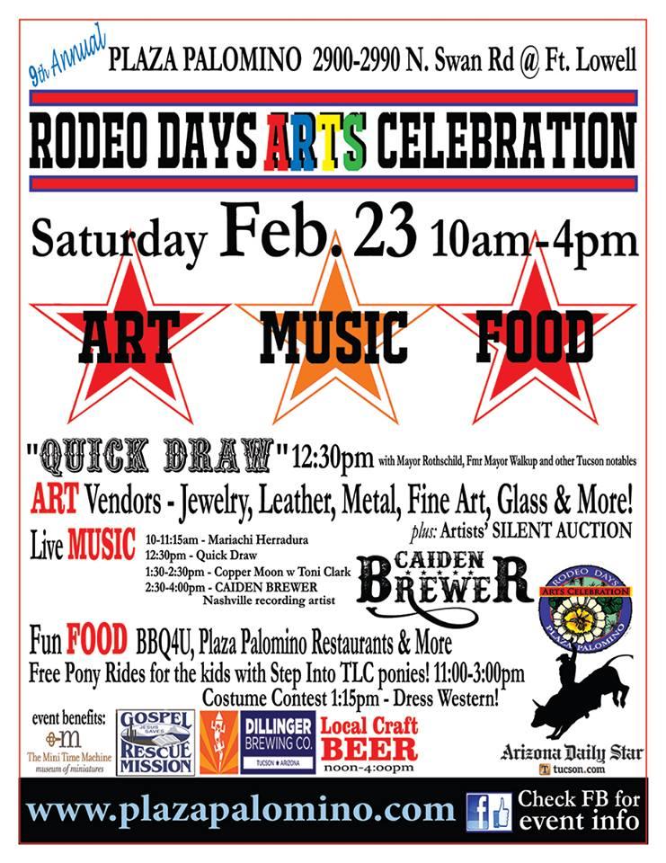 2019 Rodeo Days Art Celebration   Blog for Arizona