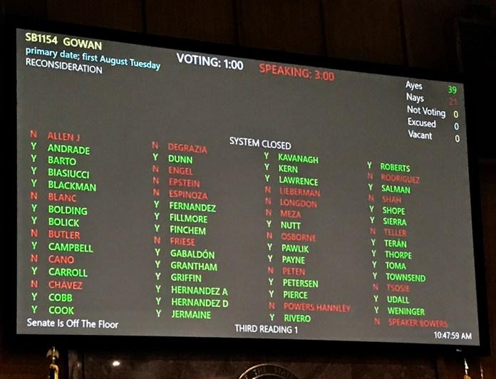AZ House vote SB1154