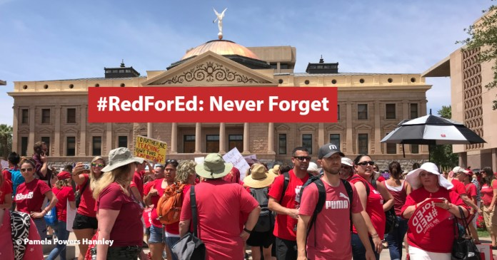 Red for Ed: Never Forget