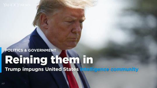 Trump shake up of the intelligence community puts US national