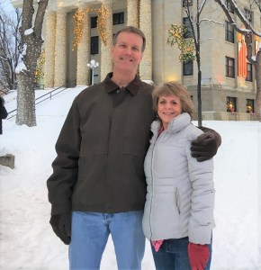 Rex Scott and his wife Teri