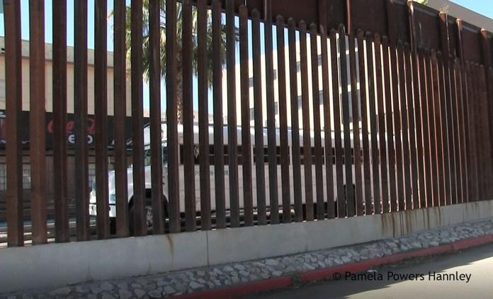 US-Mexico Border Wall in Nogales