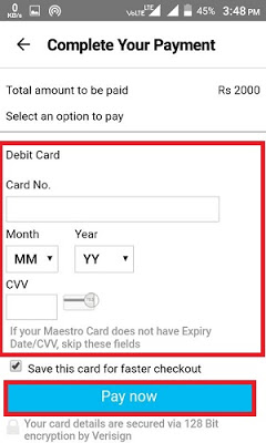 Complete Your Payment