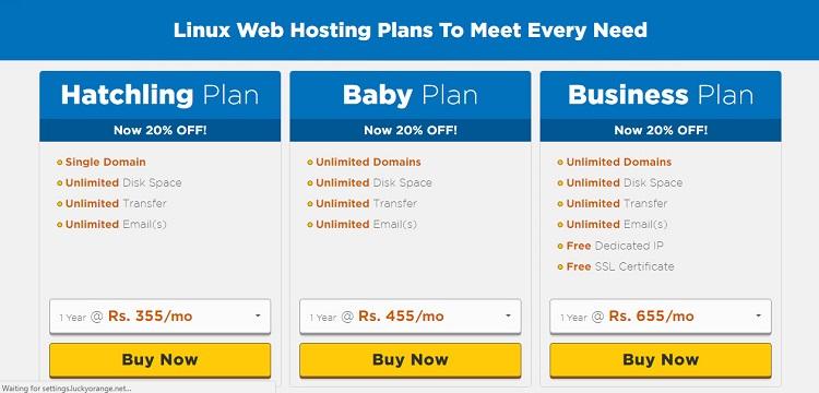 Select Any Plan