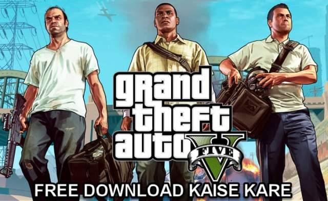 gta 5 pc game free download kaise kare