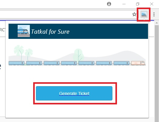 genrate ticket