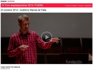 Fundacion-Arquia-Blog-Carles-Enrich-Casa-Patio-Gracia-Foro-Fuera