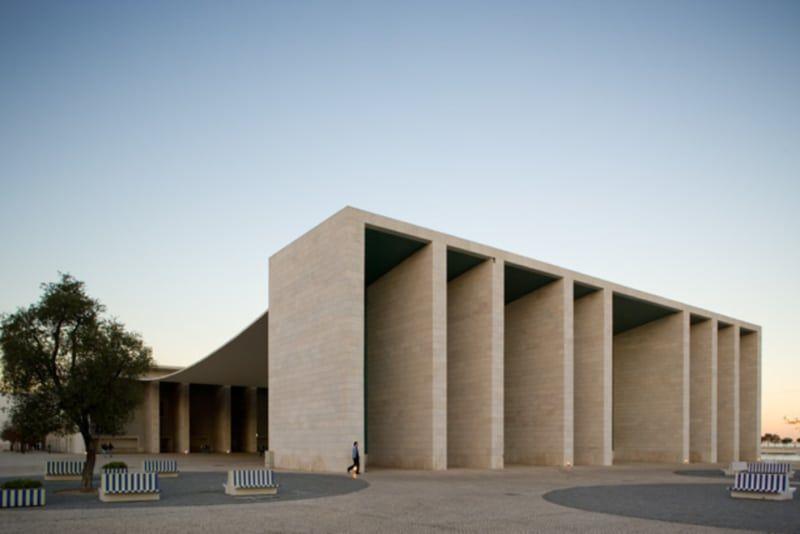 Pabellón de Portugal (Pavilion of Portugal), Álvaro Siza, 1998 (Fernando Guerra)