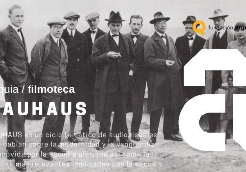Ciclo Filmoteca BAUHAUS FQ