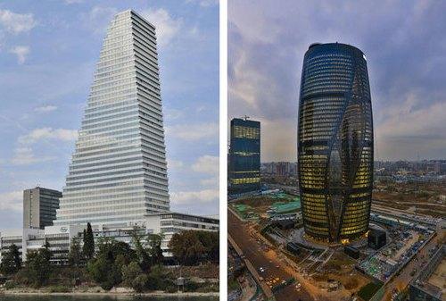 Las torres Roche y Leeza Soho
