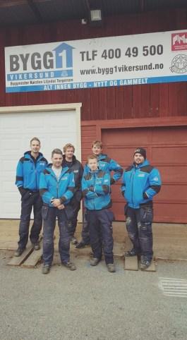 Bygg1 Vikersund med Karsten Torgersen i spissen