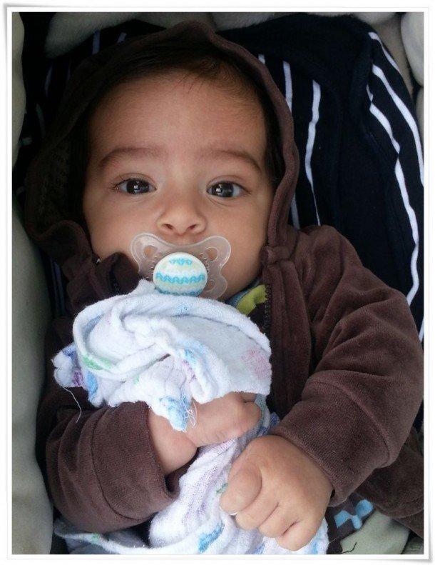 Elias 3 månader